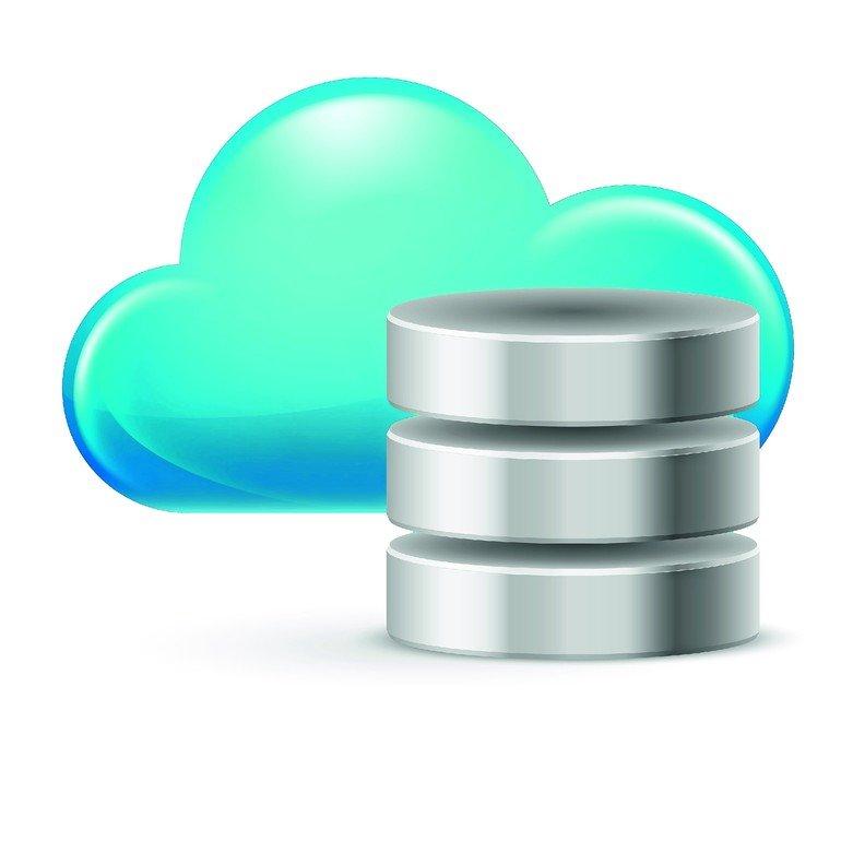 16955087_-_cloud_computing_and_database._illustration_on_white