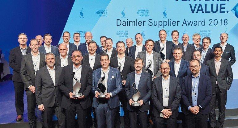 Daimler_Supplier_Award_2018:_Zum_elften_Mal_prämierte_Daimler_Lieferanten_für_herausragende_Leistungen_im_vergangenen_Geschäftsjahr.___Daimler_Supplier_Award_2018:_For_the_eleventh_time,_Daimler_honored_ten_suppliers_for_above-average_performance_over_the
