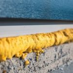 DIY_concept._Construction_PU_foam._The_window_is_installed_using_a_mounting_foam._Installation_foam