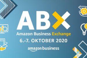 ABX 2020 Banner Amazon virtuelles Businessevent 6. und 7.10.