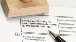 Formulares_eines_Insolvenzvertrages_auf_hellem_Hintergrund