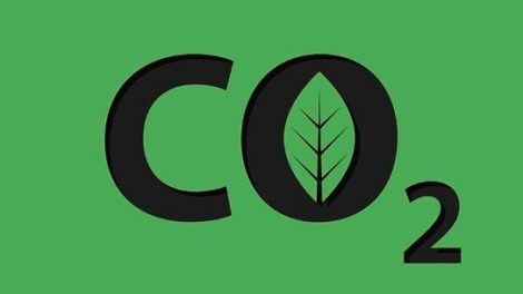 CO2_carbon_dioxide_logo_vector_icon_isolated_on_green_background.