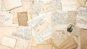 old_letters,_handwritings_and_vintage_postcards._nostalgic_sentimental_background._ephemera