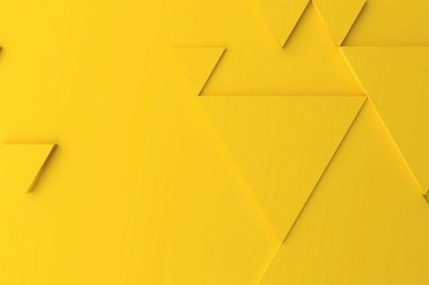 Abstract_modern_yellow_triangle_background,_3d_rendering