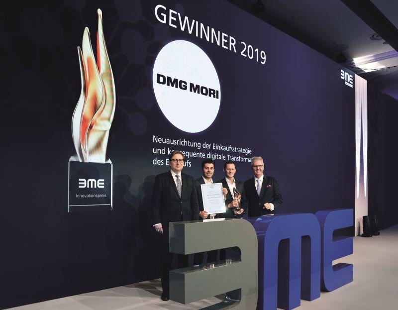 BME-Innovationspreis 2019 DMG Mori