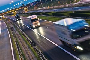 Trucks_on_four_lane_controlled-access_highway_in_Poland.__