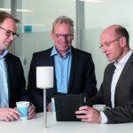 Christian Holzer und sein Team im Einkauf der Thyssenkrupp AG
