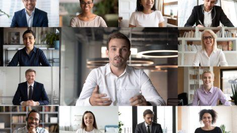 Die Videokonferenz wird von einer Notlösung zu einem strategischen Tool. 10 Tipps für einen professionellen Ablauf. Bild: fizkes/stock.adobe.com