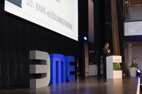 Dr. Silvius Grobosch bei der Eröffnung 2019.