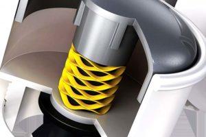 Wegen ihrer platzsparenden Geometrie, die die Realisierung von Leichtbau-Konstruktionen unterstützt, kommen die Flachdraht-Wellenfedern der Crest-to-Crest-Serien in vielen Automotive-Komponenten zum Einsatz. Bild: TFC