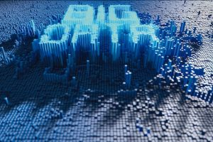 A_3D_render_of_a_microscopic_closeup_concept_of_small_cubes_in_a_random_layout_that_build_up_to_form_the_word_BIG_DATA_illuminated