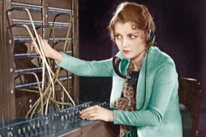 Portrait_of_telephone_operator__(All_persons_depicted_are_not_longer_living_and_no_estate_exists._Supplier_warranties_that_there_will_be_no_model_release_issues.)