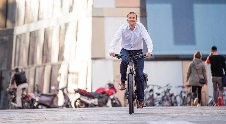 Radfahren hält gesund und ist gut für die Umwelt